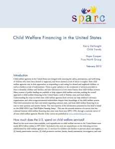 Child Welfare Financing in the United States Final copy